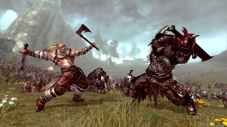 battle scene - cool, cg, warriors, abstract
