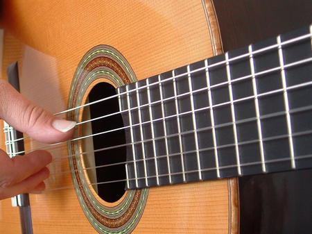 Classical Guitar Music Entertainment Background