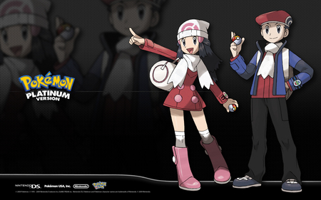 pokemon - pokemon, beautiful, platinum, girl