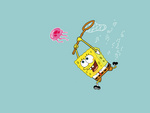 Spongebob Chasing Jellyfish