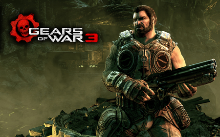 DOM - locus, gears of war 3, cog, halo, gow, gow 3, dom, anya, marcus finix