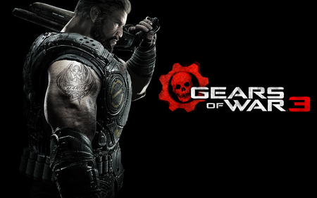 DOM - gears of war 3, entertainment, cog, best, gow 3, 3d, dom, cool, video games, games, marcus finix, avatar, new, jt