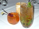 Mint Julep and Old Fashioned