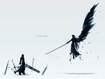Final Fantasy 7 Cloud & Sephroth