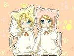 Kagamine Rin & Kagamine Len