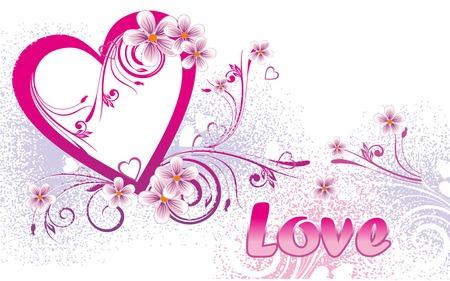 Valentine's Day - design, valentines, hearts, pink, pink heart, valentines day, heart, love