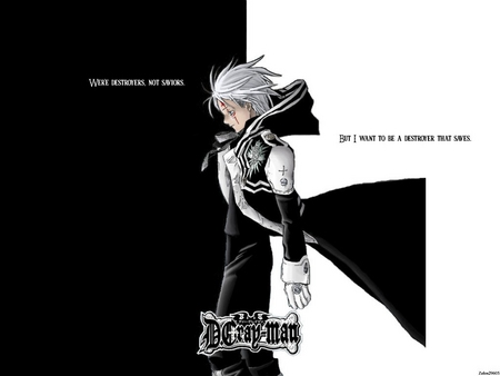 D.Gray-Man - Allen - gray, destroyer, allen, man, d