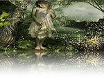 Green Fairy Reflection