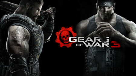 Marcus & Dom - red, games, gears of war 3, linkin park, video games, avatar, angels, cog, marcus finix, best, dom, macrus dom, jt, fire, iphon 4, 3d, cool, gow 3, entertainment, new