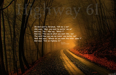 Highway 61 Music Entertainment Background Wallpapers On Desktop