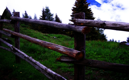 Wooden Fence - rocks, house, sun, grass, rock, gruess, sunset, clouds, gimp, mountain, beach, jesus, stones, bright, definition, heaven, wood, live, cow, life, roofs, black, sky, sexy, trees, set, winter, mountains, rain, photoshop, lakr, wooden, field, original, zillertal, venice, 3ds, green, stone, hot, fields, flood, river, light, zell, bown, amazing, babe, high, silence, church, gott, lake, 2010, tree, dark, viva, austria, summer, resolution, milk, gimpsupport, god, faith