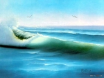 Anatomy of a wave by Bob Ross