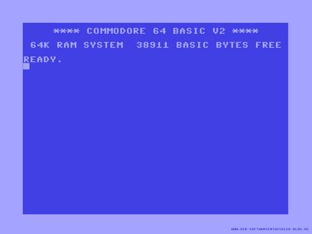 C64 Screen - 64, computer, commodore, retro, pc