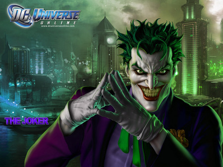 The Joker - Other & Video Games Background Wallpapers on