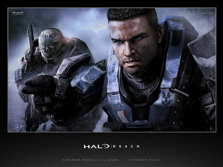 Halo Reach Carter Emile Halo Video Games Background