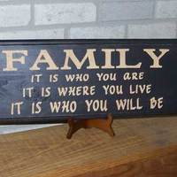 The Place Where You Should Be: Family