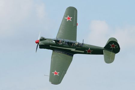 Yak-18 - world war two, red air force, soviet air force, yakovlev
