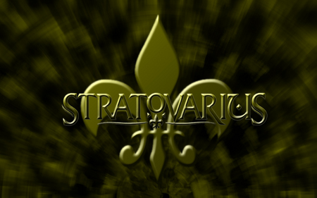StratoVarius - metal, abstract background, music, golden, band, stratovarius