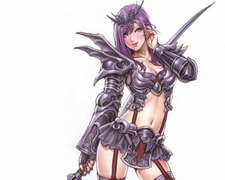 Animie sex warrior