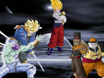 Dragon ball z android saga