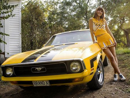 Mary Elizabeth Winstead - elizabeth, mustang, mary elizabeth winstead, winstead, cheerleader, death proof, mary, lee