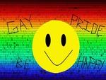 gay pride be happy
