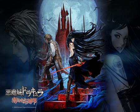 Castlevania - game, vampire, castlevania, shanoa
