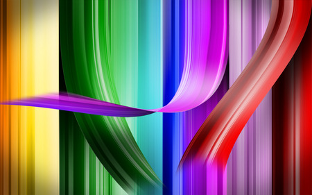 spectral table - colorful, neon, color, abstract
