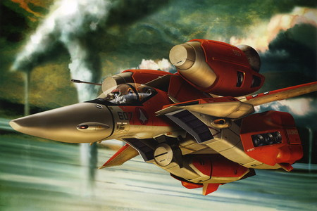Varitech Fighter VF 1 Macross Zero