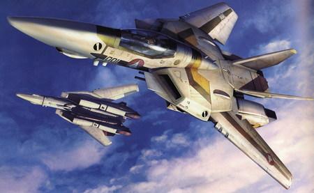 Wingman VF-1 Fighter Macross Zero - macross, fighter plane, wingman, macross zero, vf 1