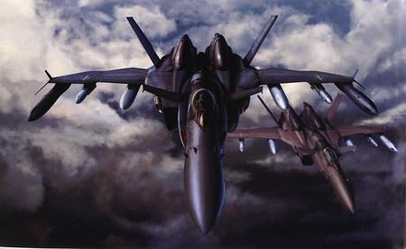 Custom SV-51 Macross Zero - macross zero, anime, fighter, sv 51, warbird, macross, fighter plane, d d ivanovs, nora polyansky, aircaft