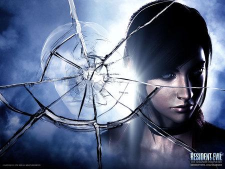 Resident Evil - claire, fantasy, game, resident evil, dark