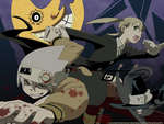 Soul,Maka and Blair