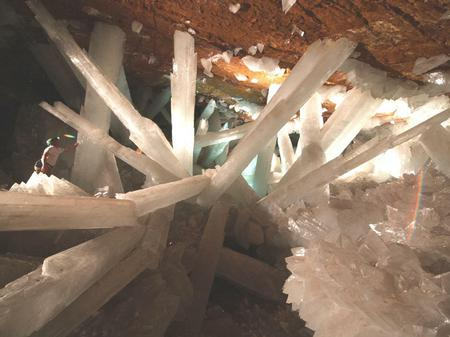Mexico's Crystal Cave - beautiful, crystals, cave, nature