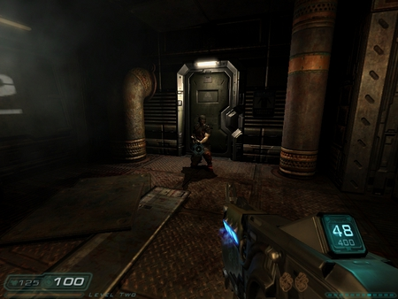 doom 3 resurrection of evils' zombies - doom, zombie, hell, plasma gun
