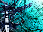 You see what I mean Wallpaper (Black Rock Shooter)