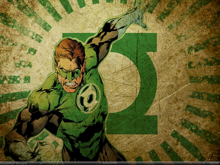 Green Lantern - green lantern, fantasy, comic, hero