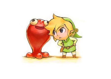 Toon Link S Conflict Zelda Video Games Background