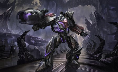 Transformers War for Cybertron, Megatron - transformers war for cybertron, video game, anime, toys