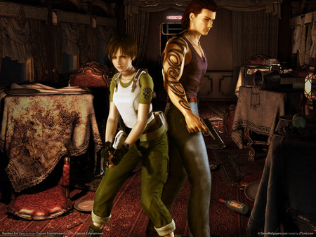 Resident Evil- Zero - adenture, resident evil, action, shooting, hd, game, gun