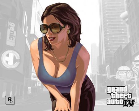 GTA 4 Girl - gta, girl, grand theft auto 4, gta 4