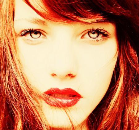 Redhead - redhead, female, model, girl