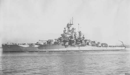 USS Nevada (BB36) - ship, nevada, war, battle