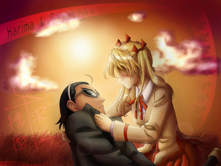 School Rumble - harima, eri sawachika, eri, anime, school rumble, kenji harima, rumble