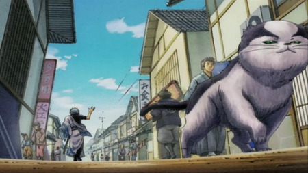 Gintama - goodbye, gintama, anime, the end, story, funny, cat