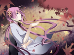 Megurine Luka - A Single Red Leaf