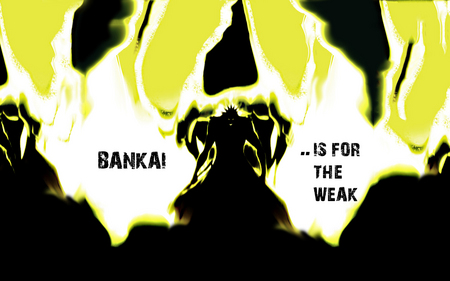 Bankai....is for the weak - bleach, bankai, anime, kenpachi, zaraki