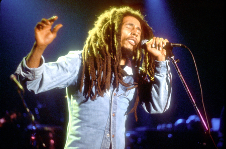 Bob Marley - reggae, jamaican, music, singer, songwriter