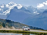 Citroen DS3 during Mont Blanc Rally win