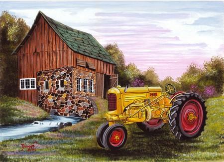 Farm Tractor Wallpaper 1945 Minneapol Farm Tractor